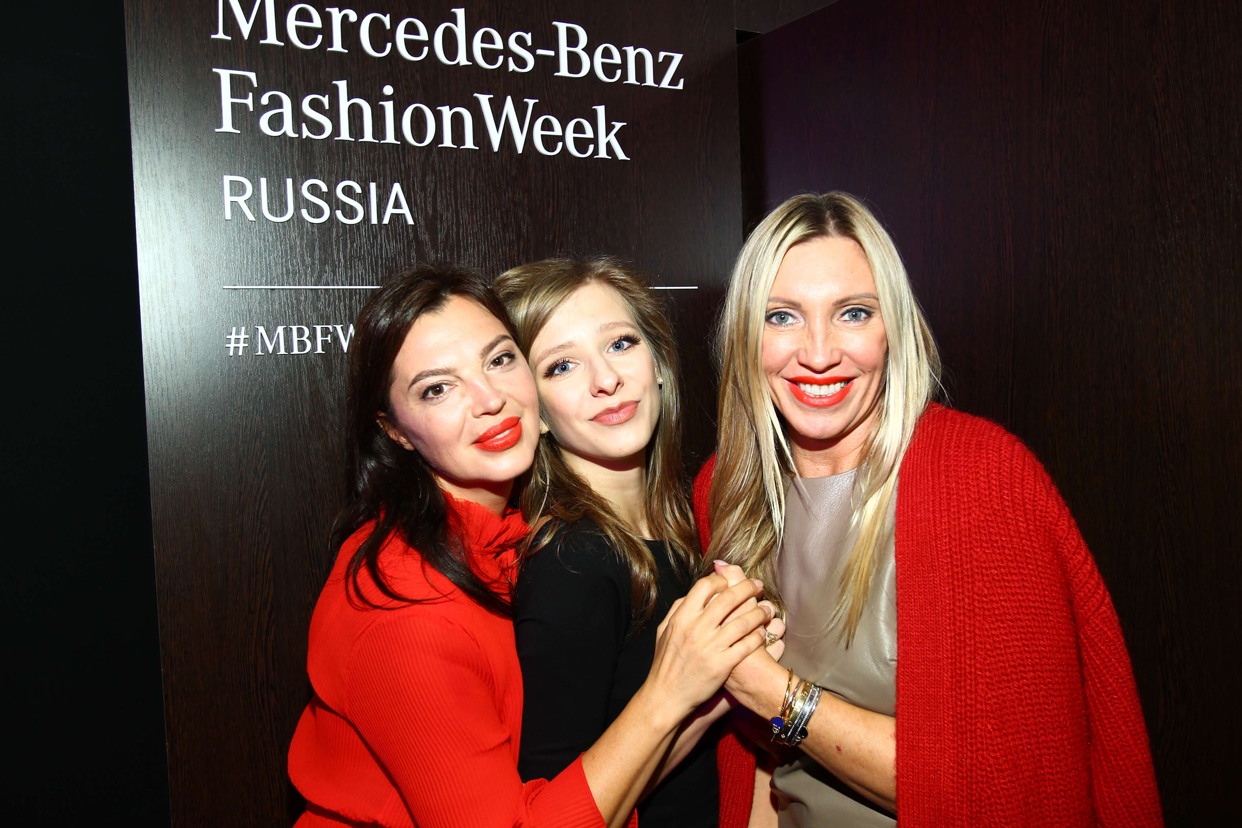 Звезды на Неделе моды Mercedes-Benz Fashion Week Russia